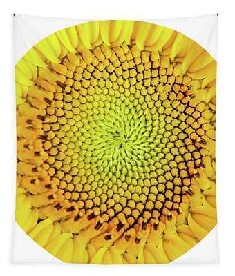 Sunflower Large Round Beach Towel Design Tapestry