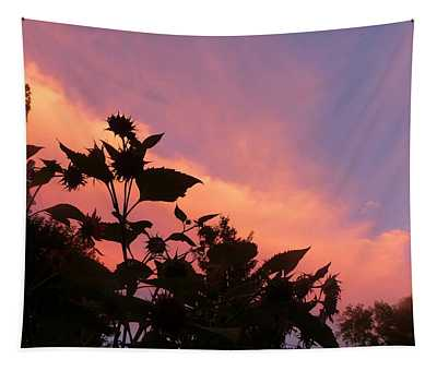 Sunset In Chatfield Tapestry