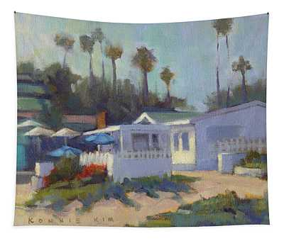 Sunny Day At Crystal Cove Tapestry