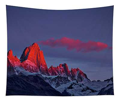 Sunrise At Fitz Roy #3 - Patagonia Tapestry