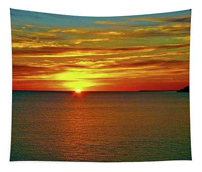 Sunrise At Matane Tapestry