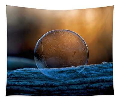 Sunrise Capture In Bubble Tapestry
