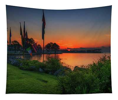 Sunrise On The Neuse 2 Tapestry