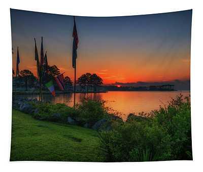 Sunrise On The Neuse 2 Tapestry