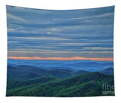 Sunrise On The Parkway Tapestry