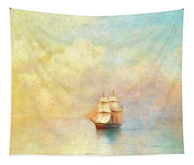 Sunrise On The Sea Tapestry