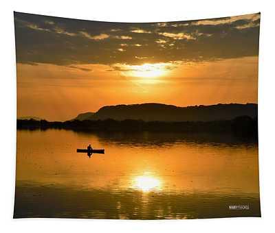 Sunrise Reflection Tapestry