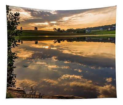 Sunrise Reflections Tapestry