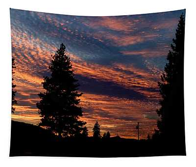 Sunset 2 Tapestry