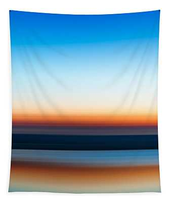 Sunset At Ottawa Lake Tapestry