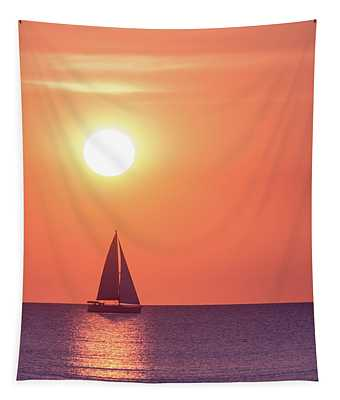 Sunset Dreams Tapestry