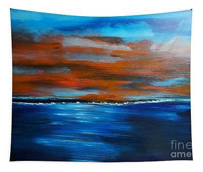 Sunset II Tapestry