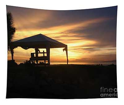 Sunset Massage Tapestry