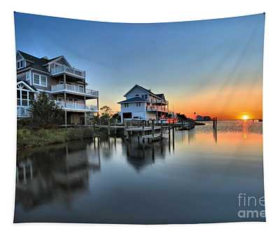 Sunset On The Obx Sound Tapestry