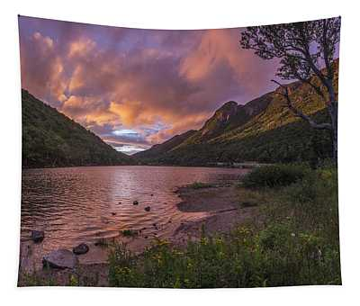 Sunset Over Profile Lake Tapestry