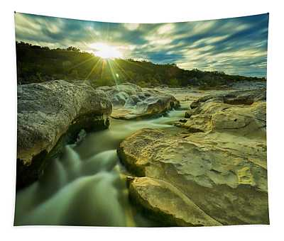 Sunset Over The Cascade Tapestry