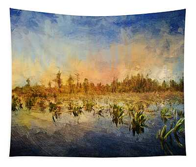 Sunset Over The Okefenokee Tapestry