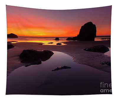Sunset Pools Tapestry