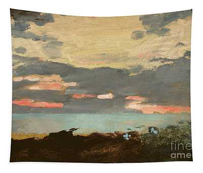 Sunset, Saco Bay Tapestry