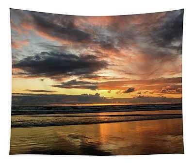Sunset Split Tapestry