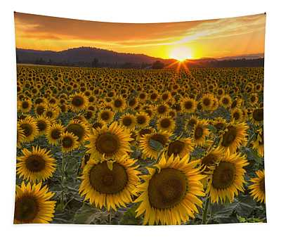 Sunshine And Happiness Tapestry