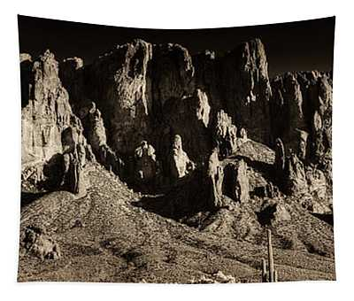 Superstition Mountain  Tapestry