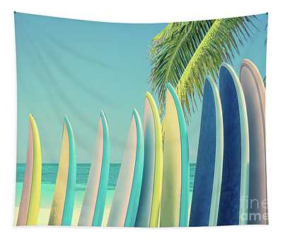 Surfboards Tapestry
