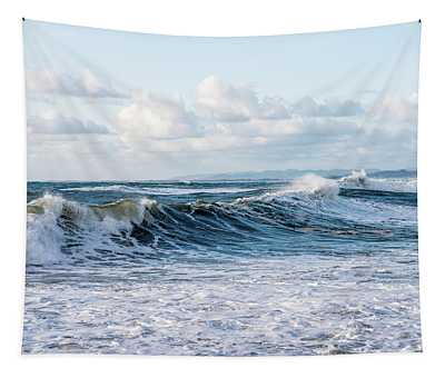 Surf And Sky Tapestry
