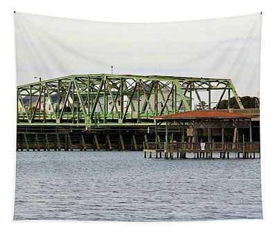 Surf City Swing Bridge Tapestry