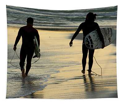 Surfers  Tapestry