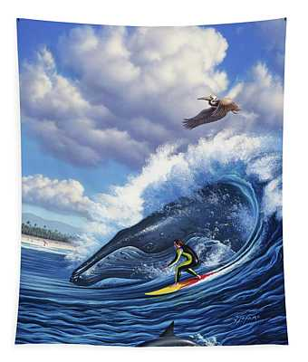 Surf's Up Tapestry