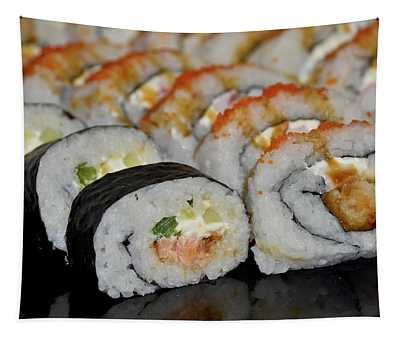 Sushi Rolls From Home Tapestry