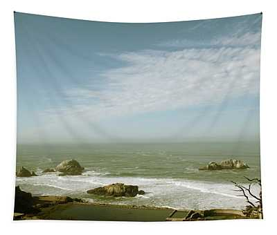 Sutro Baths San Francisco Tapestry