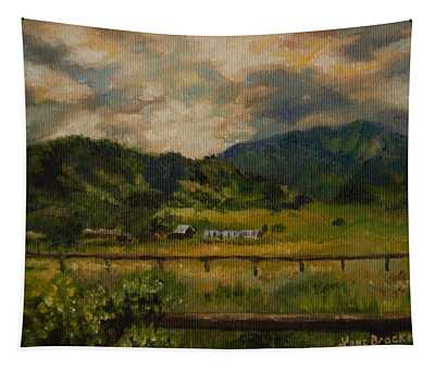 Swan Valley Hillside Tapestry