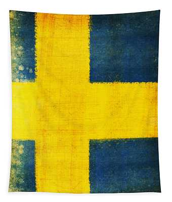 Swedish Flag Tapestry