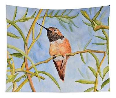 Sweet Hummingbird Tapestry
