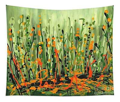 Sweet Jammin' Peas Tapestry