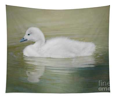 Sweet Little Gosling Tapestry