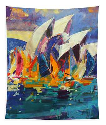 Sydney Flying Colours Tapestry