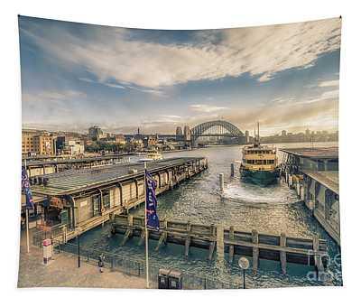 Sydney Harbor I Tapestry