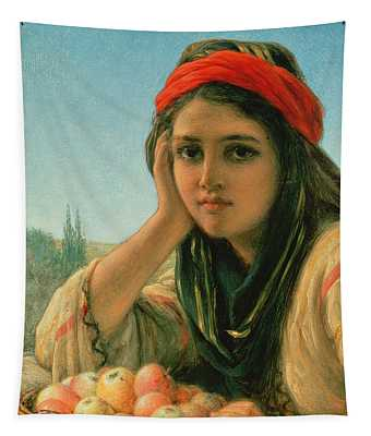 Syrian Fruit Seller Tapestry