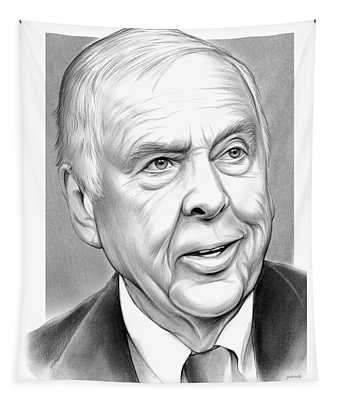 T Boone Pickens Tapestry