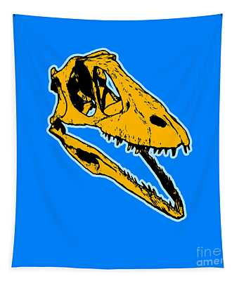 T-rex Graphic Tapestry