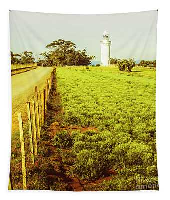 Table Cape Lighthouse Tapestry