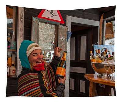 Taimi In Zermatt Switzerland Tapestry