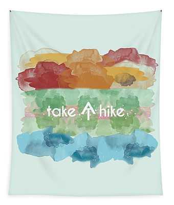 Take A Hike Appalachian Trail Tapestry
