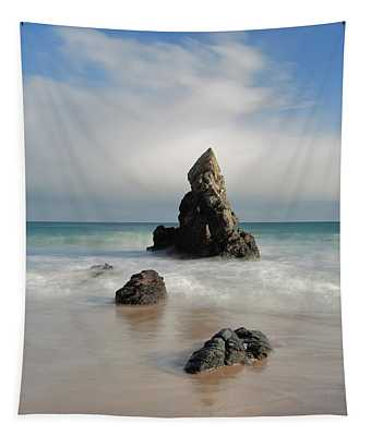Tall And Proud On Sango Bay Tapestry