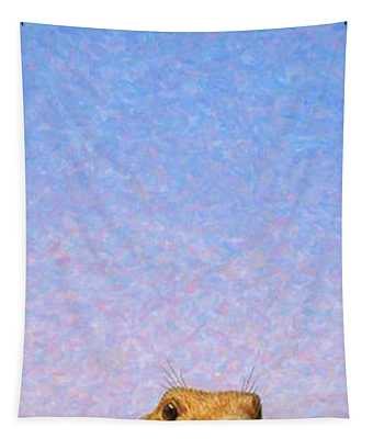 Tall Prairie Dog Tapestry
