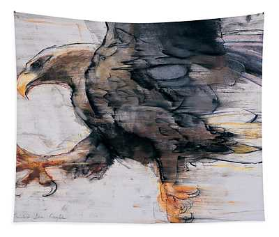 Talons   White Tailed Sea Eagle Tapestry