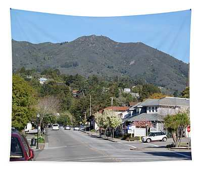 Tamalpais From Mill Valley Tapestry